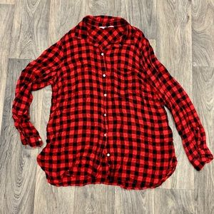 Old Navy Buffalo Plaid Button-up